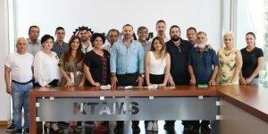 CTP'li LTB Meclis üyesi adayları sendikalara ziyaret başlattı