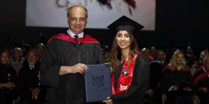 GAÜ'de diploma töreni yapıldı