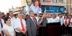 DP, Maraş'ta adaylarını tanıttı