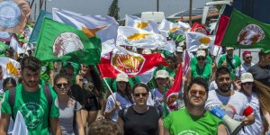 Barış Konseyi, Ağrotur üssü önünde eylem yaptı