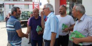 Osman Bican yurttaşların bayramını kutladı