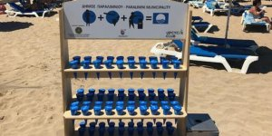 Larnaka plajlarında ekolojik küllükler