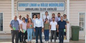 Adalıer ve ekibi limanda:  Mağusa'ya hava temizliği ölçüm cihazı yerleştireceğiz