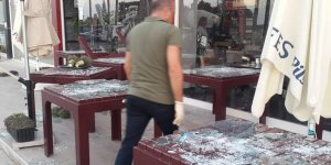 Çatalköy'de mekana ateşli saldırı