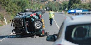 Trodos'ta feci kaza: 1 ölü