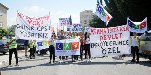 CAS çalışanları yasal statü talep etti