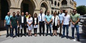 Girne'de mazbatalar verildi