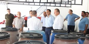 Nami, Şahali ve Ataoğlu'dan, Arsal Gıda Sanayi'yi ziyaret
