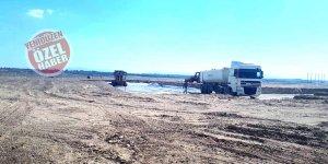 Rauf Denktaş Üniversitesi için Alayköy'de arazide çalışmalar başladı