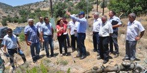 Değirmenlik Belediyesi sınırları içindeki su sorunları incelendi