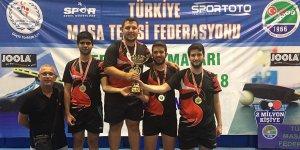 Anka Spor Derneği'nden Türkiye masa tenisinde önemli başarı