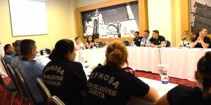 """""""Şiddete Karşı Yan Yana Projesi""""nde ilk eğitim LTB personeline verildi."""