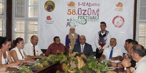 Üzüm Festivali 5 Ağustos'ta
