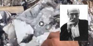Yönetmen Theo Angelopulos'un evi de yananlar arasında