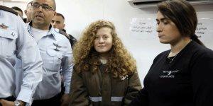 Filistinli genç Ahed Tamimi serbest bırakıldı
