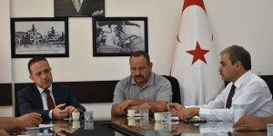 Şahali, Kıbrıs Türk Patates Üreticileri Birliği'ni konuk etti