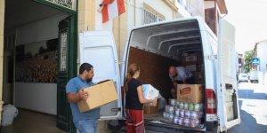 CTP yardımları teslim etti