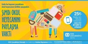 SOS Çocukköyü Derneği'nden bağış çağrısı