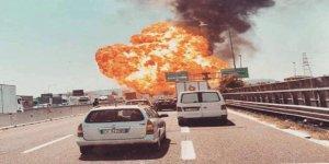 Bologna havalimanı yakınlarında büyük patlama