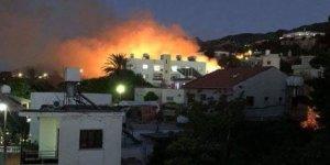 Lapta'da yangın