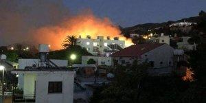 Lapta'da çıkan yangınla ilgili 1 tutuklama