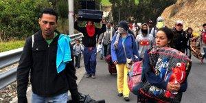 Ekonomik krizdeki Venezuela'yı 2.3 milyon kişi terk etti
