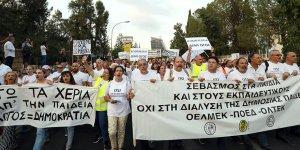 Güney'de yeni akademik yıl grevlerle başladı