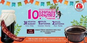Pekmez Festivali yarın başlıyor