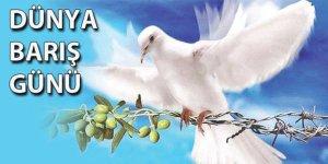 Yarın 1 Eylül Dünya Barış Günü