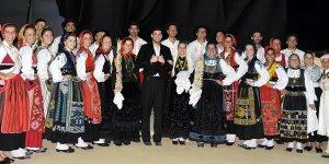 Lefkoşa Halk Dansları Festivali sürüyor