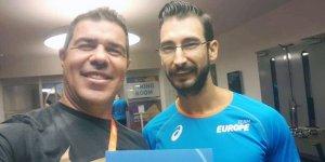 Kıtalararası atlet Yiğitcan