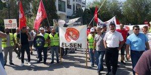 EL-SEN'den tam gün uyarı grevi