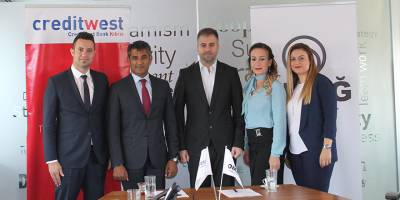 Omağ Intense Nicosia, Creditwest garantisiyle satışta