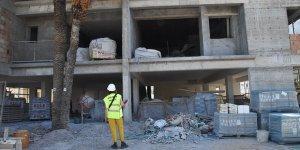 5 inşaatın faaliyetleri durduruldu