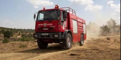 Lefkoşa'da yangın Maşera Ormanı'nı tehdit ediyor