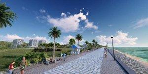 Lefke'ye sahil yürüyüş yolu