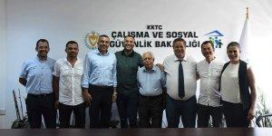 Bakan Çeler, Kamu-İş Yönetim Kurulu'nu kabul etti