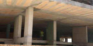 Pazar da çalışan 9 inşaata ceza