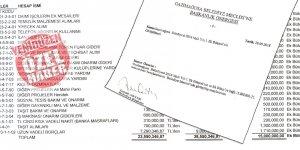15 milyon TL'lik  borçlanma önergesi