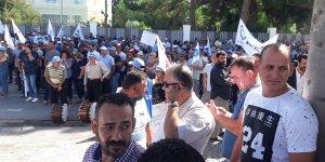 Kamu-Sen ve Hür İş zamları protesto etti