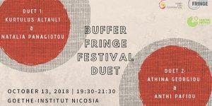 """Buffer Fringe Festivali """"Düet""""leri bu hafta başlıyor"""