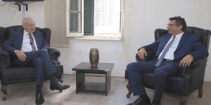 Başbakan Erhürman, Alman Büyükelçi ile görüştü