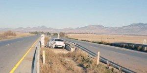 Kaza yapan sürücü ortadan kayboldu