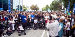 Lefkoşa Maraton'undan renkli görüntüler