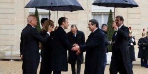 Anastasiadis, Paris'te Macron ve Erdoğan ile görüştü