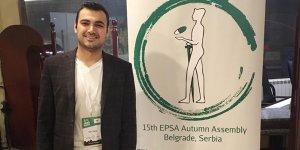 UKÜ Öğrencisi EPSA Kongresi'nde oy kullandı