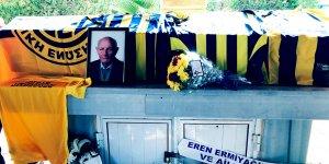 Ebeoğlu'nun cenazesi Kıbrıs'ın güneyinde de yankı buldu