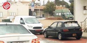 Kızılbaş'ta 'park yeri' sorun oldu