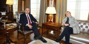 Çavuşoğlu ile Lute, Kıbrıs'ı görüştü
