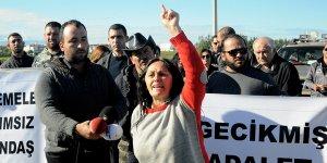 Gönyeli'de yol eylemi: 40 bin kişi mağdur
